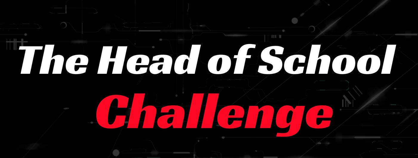 community, students, head~of~school~challenge